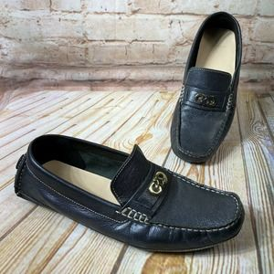Cole Haan SHELBY Leather Driving Shoes Loafers
